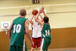 Teams playing basketball | Mitchell Medical